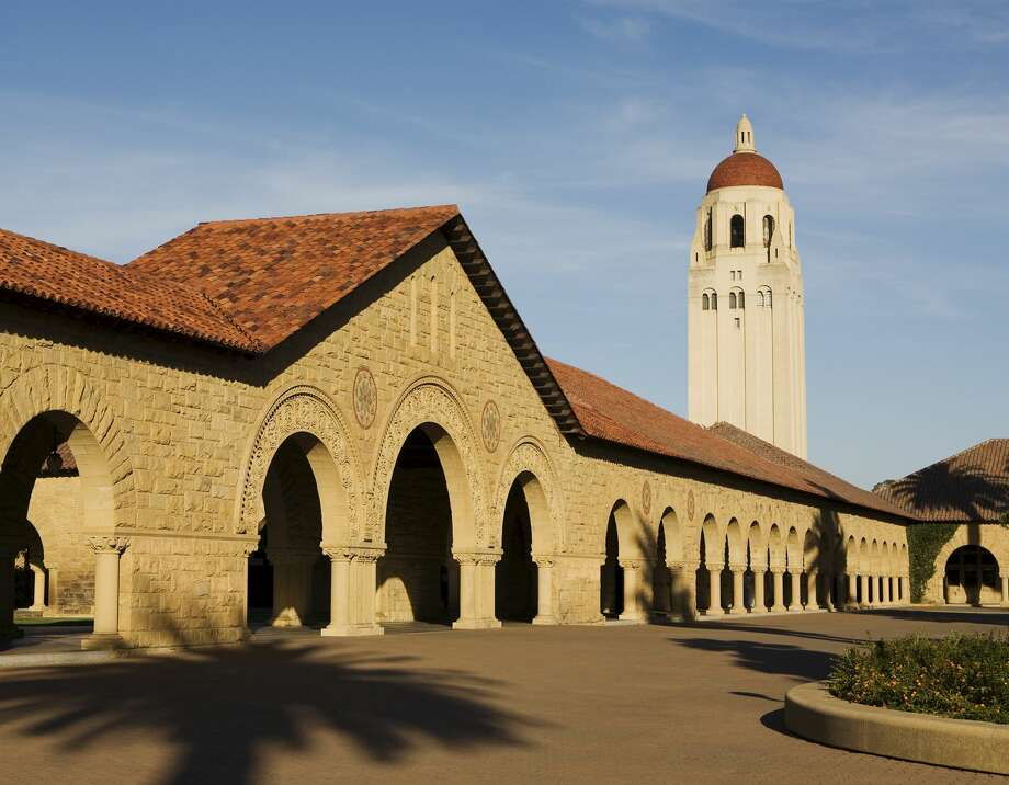 Hoover Tower near the Main Quad at Stanford University. Photo: Billy Hustace/Robert Harding