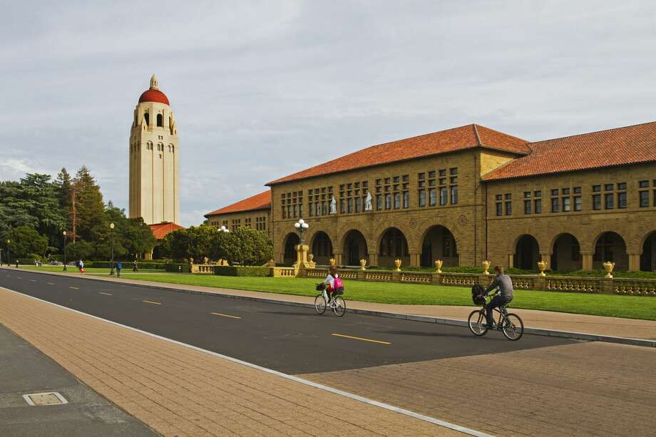 Hoover Tower near the Main Quad at Stanford University. Photo: Mark Miller Photos/Getty Images