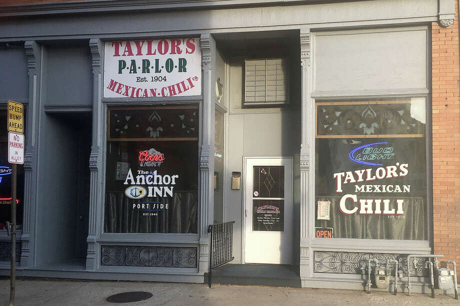 The exterior of Taylor's Mexican Chili Parlor.