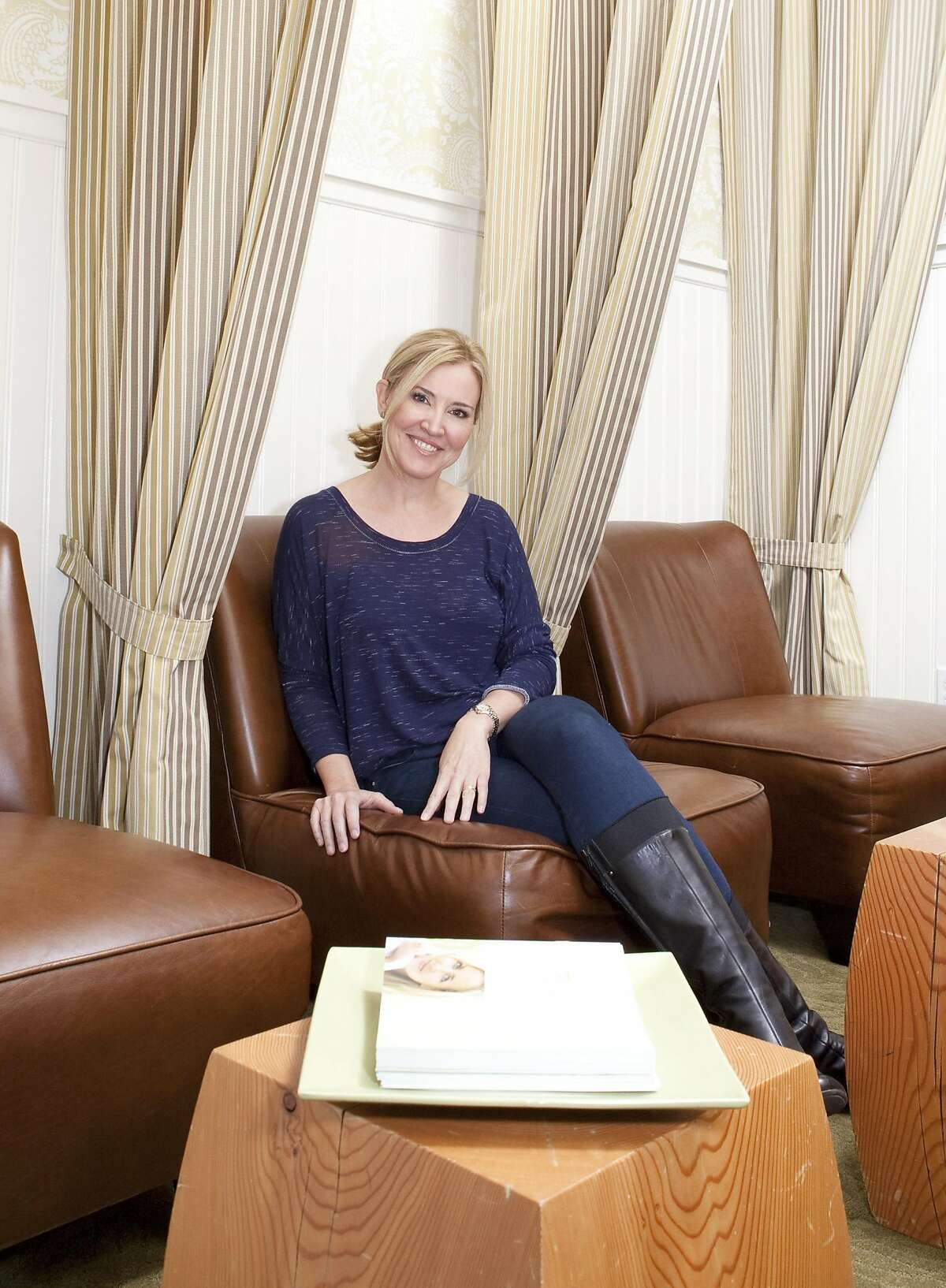Lynn Heublein, founder of SkinSpirit skin care salons, was a tech entrepreneur who learned to maintain a work-life balance after burning out in the startup world.