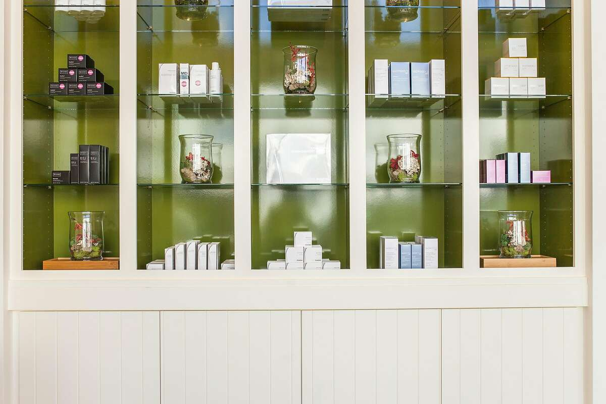 Woodside entrepreneur Lynn Heublein created SkinSpirit, a skincare clinic and spa, with Dr. Michael Dean Vistnes, in Palo Alto in 2003. Its eighth location in San Francisco, shown here, opened in December, 2016.