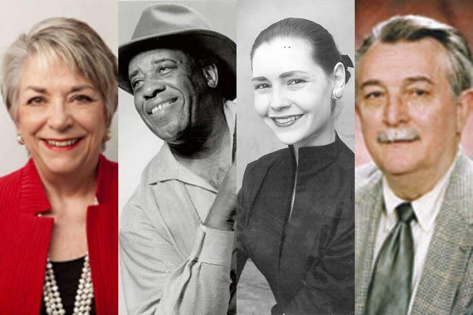 NOTABLE DEATHS IN 2016 From left, Karen R. Johnson, former Entergy president; 'Long John' Hunter, Beaumont bluesman; Bonnie Cokinos, longtime dance instructor; Willis Webb, former publisher of the Jasper Newsboy.