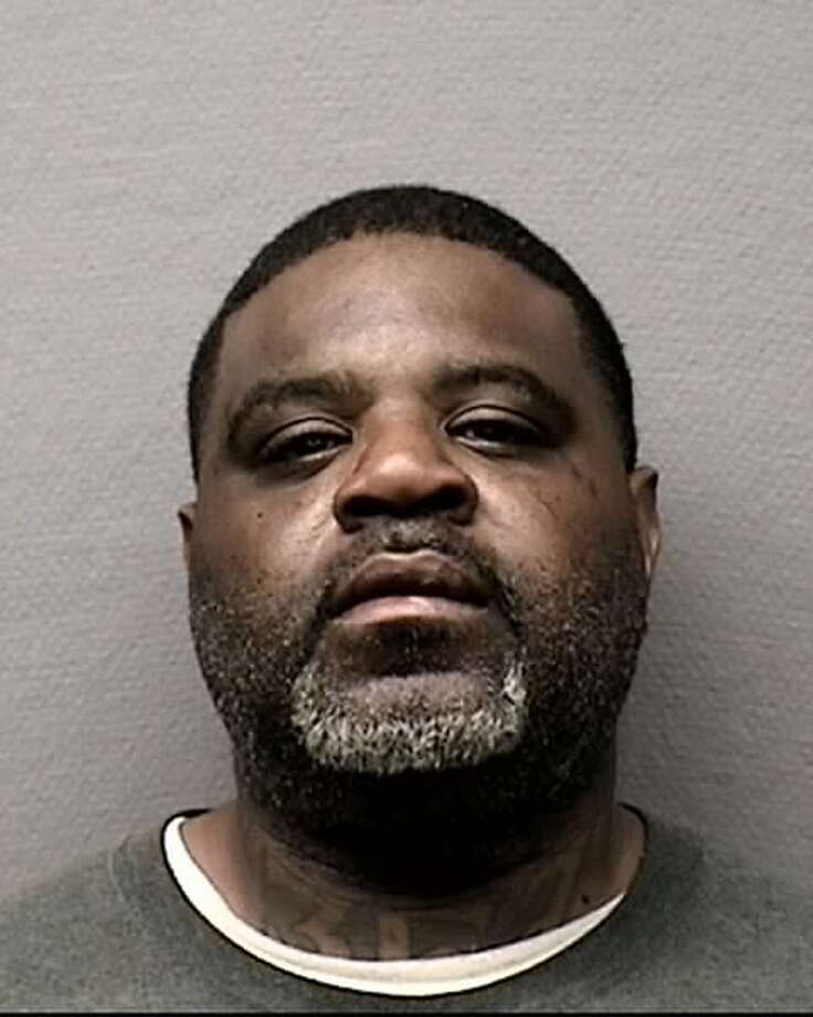 At the scene of the horse abuse, Robert Herman Smith, 43, was arrested on an unrelated burglary case. Photo: Houston Police