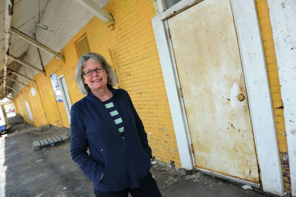 Board president Kat Wolfram of the Electric City Food Co-op on Thursday, April 17, 2014, in Schenectady, N.Y. (Cindy Schultz / Times Union)