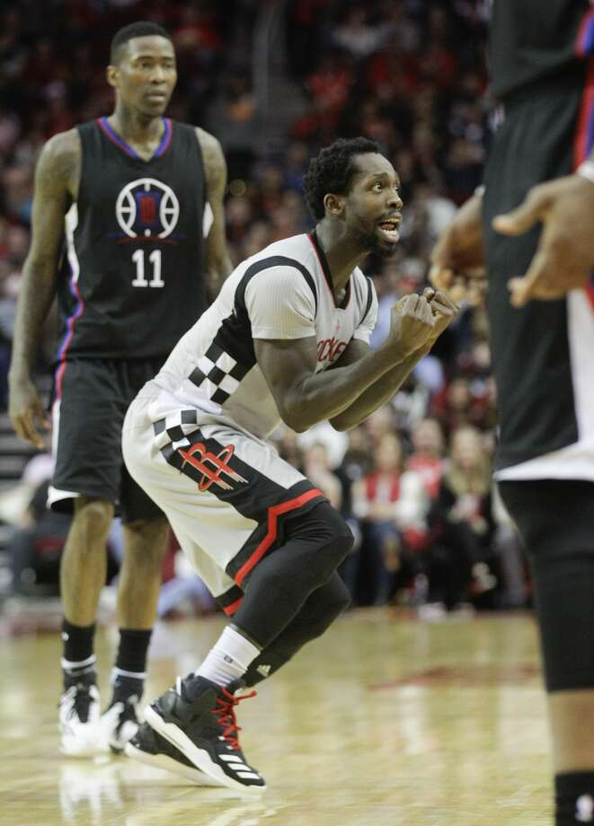 Houston Rockets guard Patrick Beverley (2) reacts to getting called with a foul during the second half of NBA game action on Friday, Dec. 30, 2016, in Houston. Rockets won the game 140-116.( Elizabeth Conley / Houston Chronicle ) Photo: Elizabeth Conley/Houston Chronicle