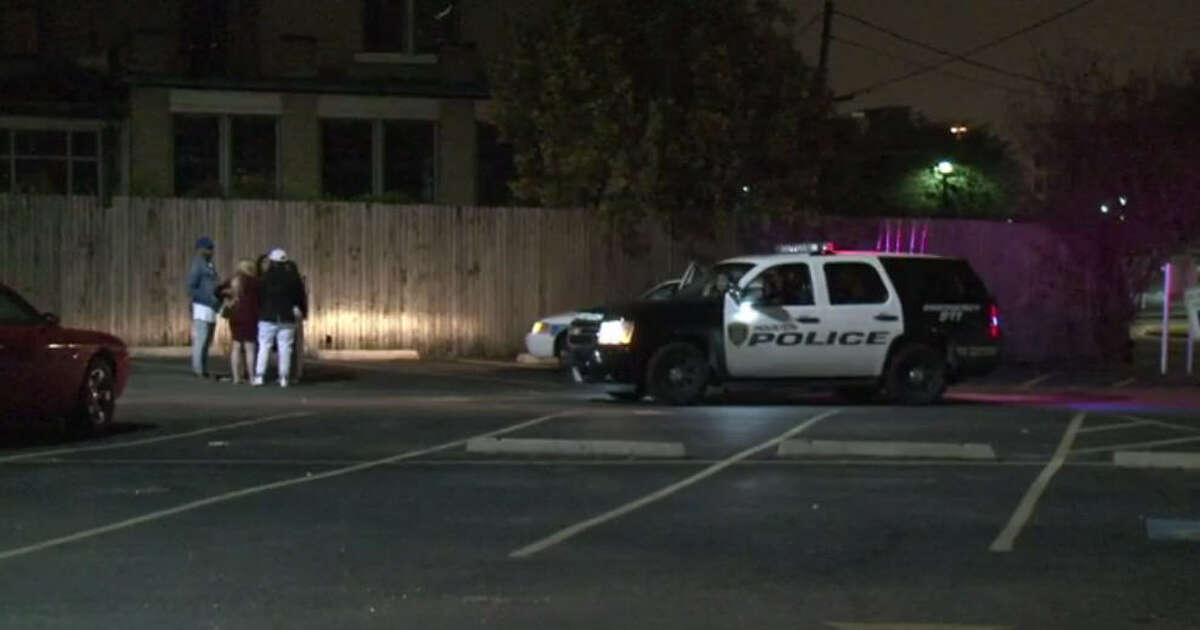Three men were shot after a series of altercations that started inside a Midtown club.