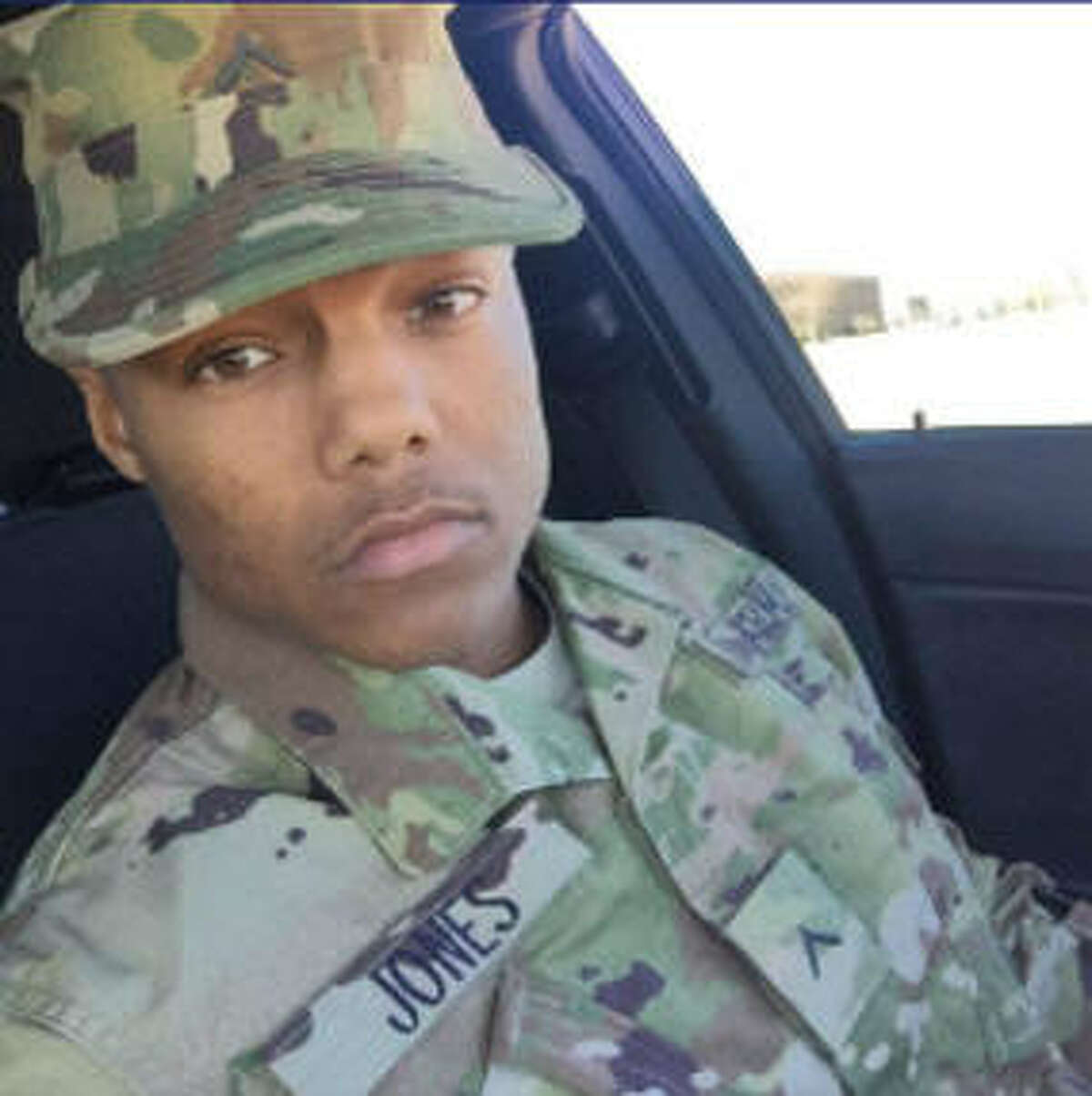 On leave Melvin Jones, a U.S. Army soldier based at Fort Bliss in West Texas, was on leave when he was last heard from on Dec. 19, 2016. He won't be considered AWOL until late January.