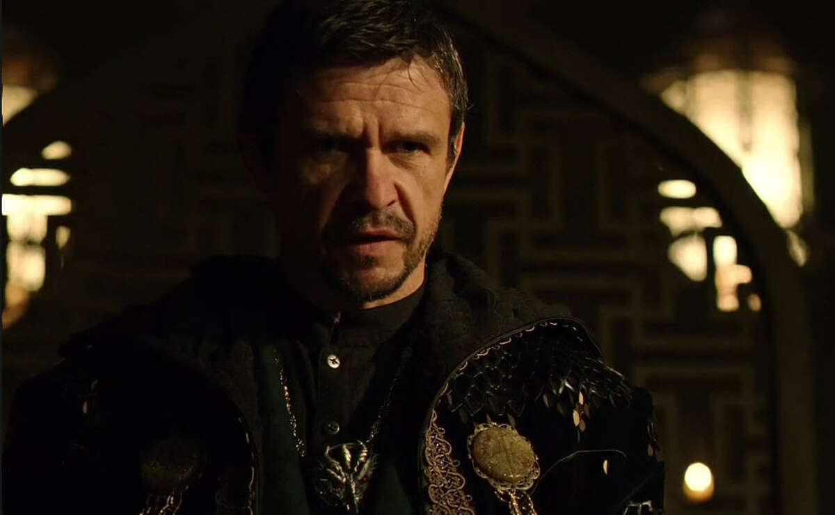 The villain Ra's al Ghul, played by Liam Neeson in the movie