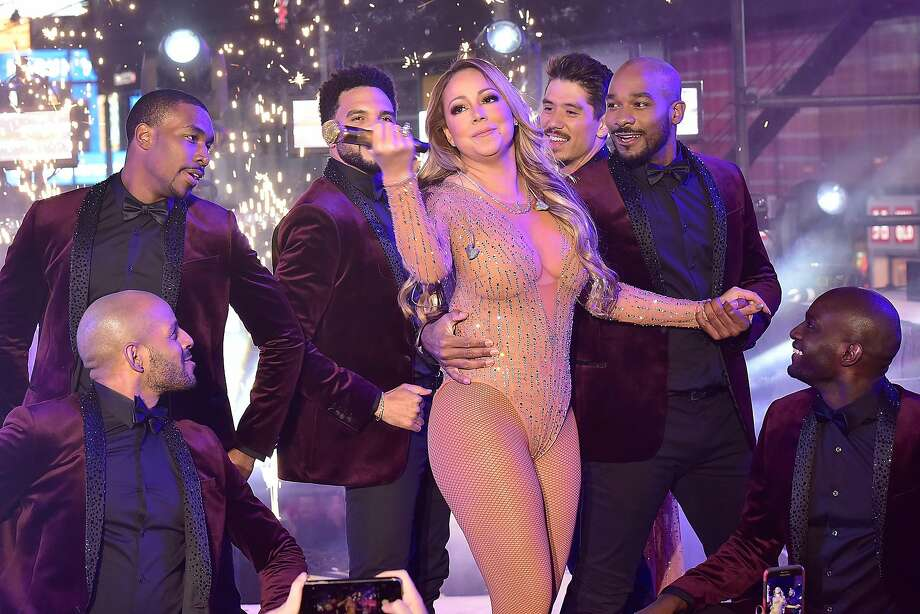 NEW YORK, NY - DECEMBER 31:  Mariah Carey performs during the New Year's Eve Countdown at Times Square on December 31, 2016 in New York City.  (Photo by Eugene Gologursky/Getty Images for TOSHIBA CORPORATION) Photo: Eugene Gologursky, Getty Images For TOSHIBA CORPORA