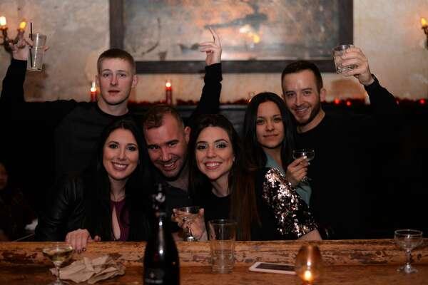 The Esquire Tavern rang in 2017 with its infamous New Year's Eve bash.