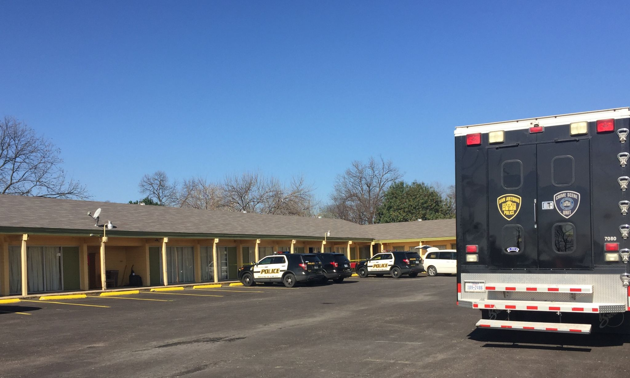 Body Found In Motel Room Marks City S First Homicide Of