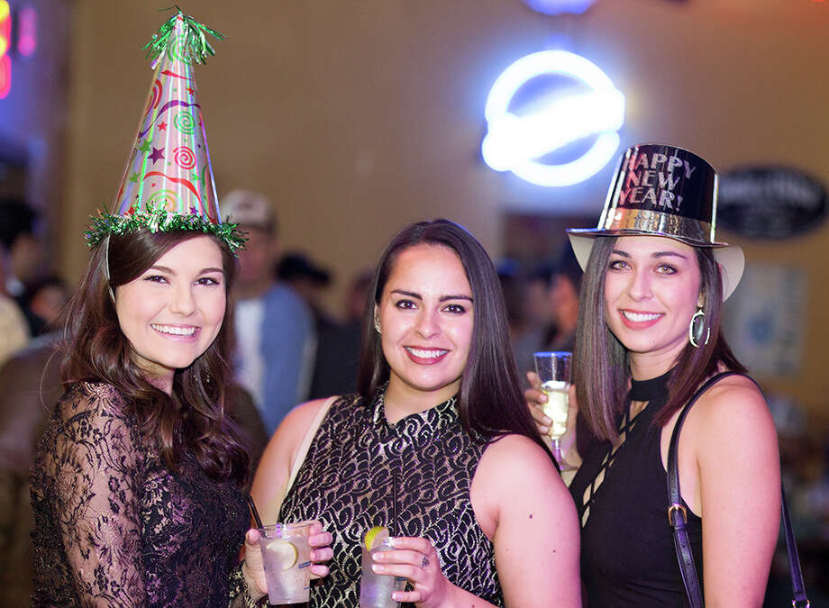 Revelers danced the night away at The Well at its first New Year's Eve bash, ringing in 2017. Photo: B. Kay Richter