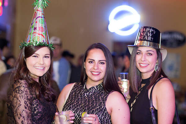 Revelers danced the night away at The Well at its first New Year's Eve bash, ringing in 2017.