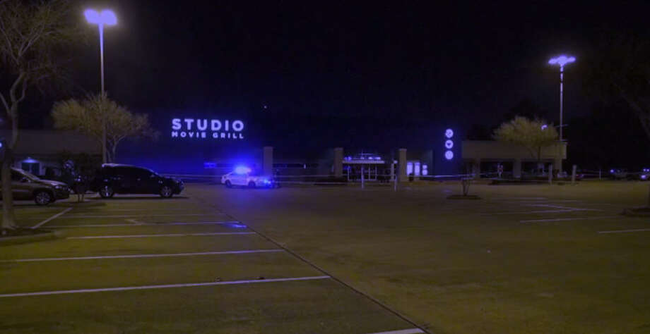 One man died and another was wounding in a shooting about 9:30 p.m. Sunday, Jan 1, 2017, outside the Studio Grill at 8580 Highway 6 North in northwest Harris County. (Metro Video)