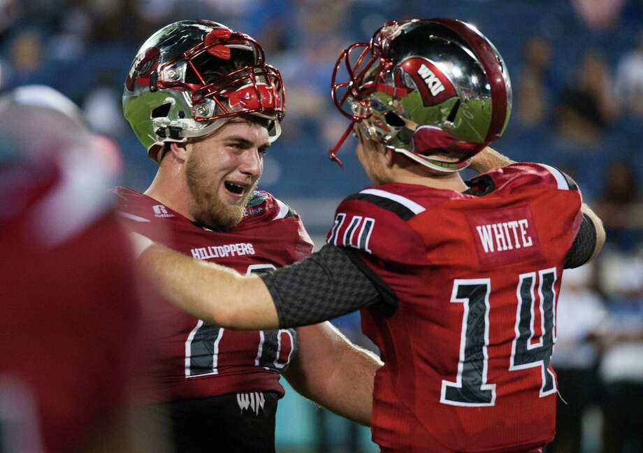 Western Kentucky's Mike White could be a later-round pick at quarterback. Photo: Austin Anthony, Associated Press / Daily News