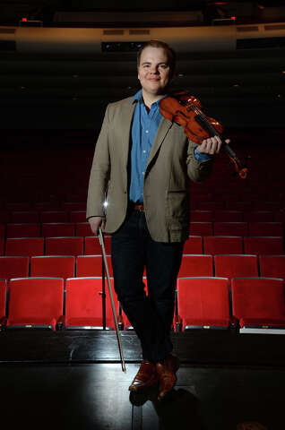 Local symphony's concertmaster aims to bring classical, folk music