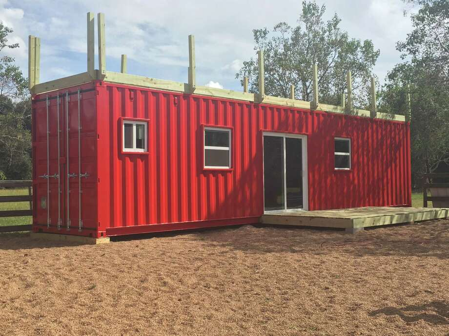 Jon Meier, owner of Backcountry Containers, builds tiny homes out of 20- and 40-foot-long shipping containers. Photo: Backcountry Containers