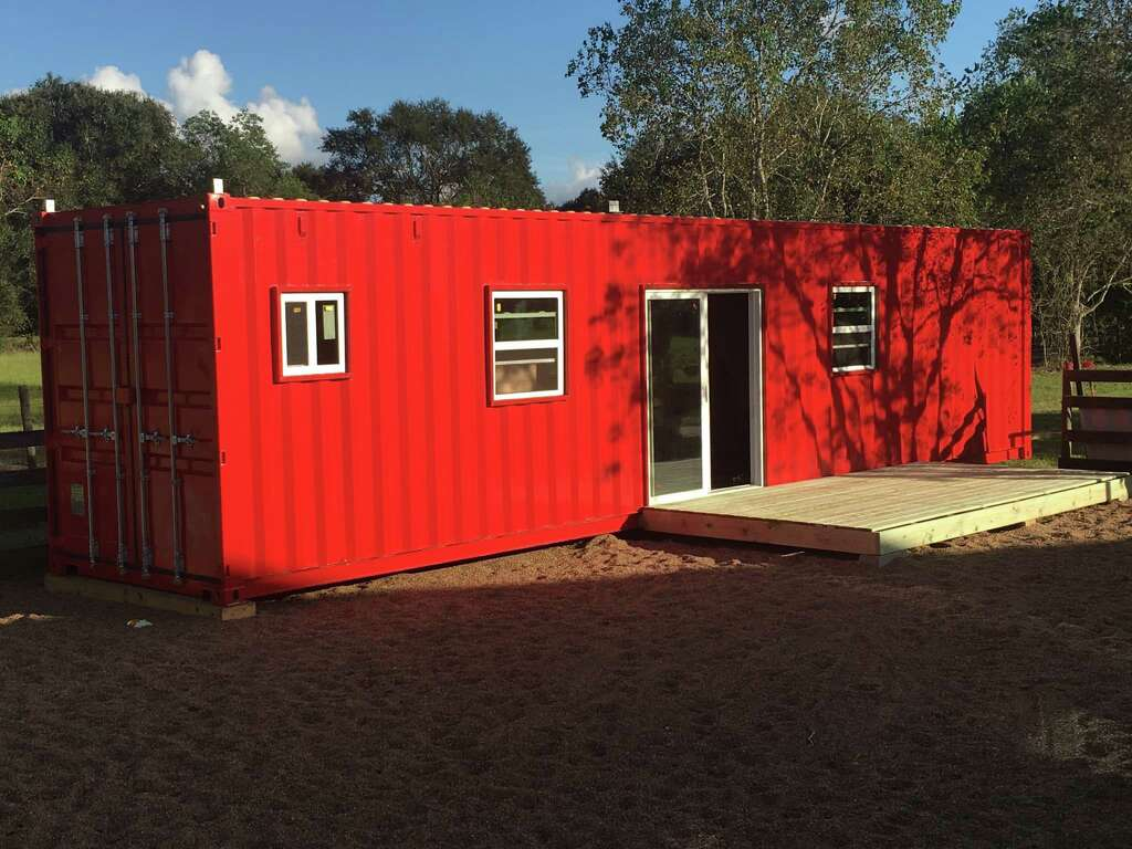 This 400 Square Foot Home Made Of A Shipping Container Gets A Rooftop Deck