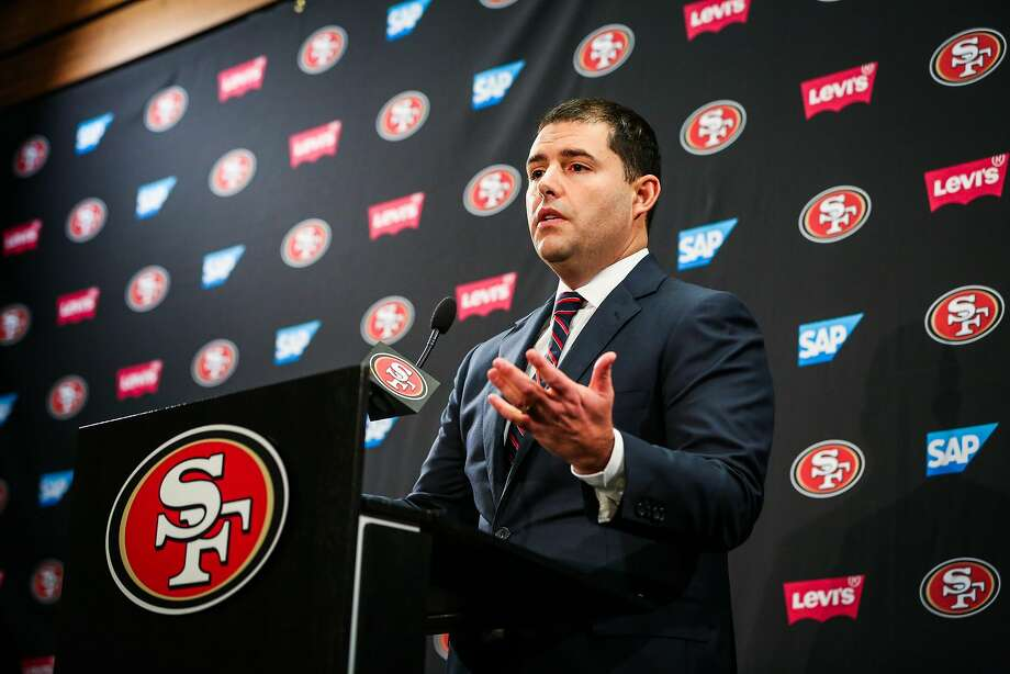 Hires based on interviews haven't worked out all that well for 49ers CEO Jed York. Photo: Gabrielle Lurie, The Chronicle