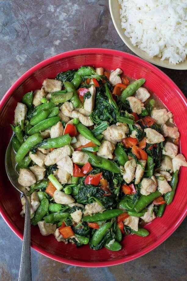 Chicken and Vegetable Stir-Fry takes 35 minutes start to finish. Photo: Sarah Crowder, UGC / Sarah Crowder