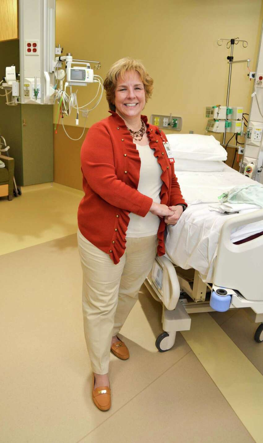 Diane Bartos, Administrative Director of Critical Care and Cardiology Services at Saratoga Hospital, in the ICCU at Saratoga Hospital, on Friday, December 2, 2016. (Colleen Ingerto / Times Union)