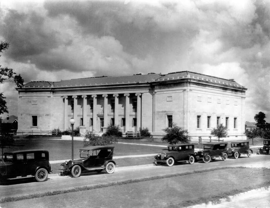 1926 - Wings were added to each side of the original Museum of Fine Arts building in Houston. Photo: Cecil Thomson / Houston Post files