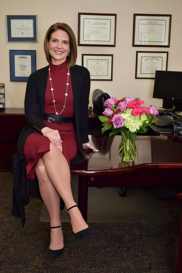Joan Regan Hayner, Chief Executive Officer at CapitalCare Medical Group, at her office in Albany, N.Y. on Tuesday, November 29, 2016. (Colleen Ingerto / Times Union) Photo: Colleen Ingerto / Times Union