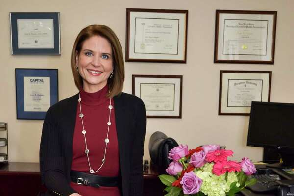 Joan Regan Hayner, Chief Executive Officer at CapitalCare Medical Group, at her office in Albany, N.Y. on Tuesday, November 29, 2016. (Colleen Ingerto / Times Union)