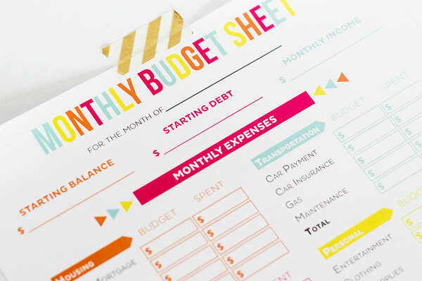 Editable Budget Worksheets, $1.79 If your goal for the new year is to spend less, it might be smart to start recording how much you dish out. These letter-size worksheets are more visually appealing than a standard ledger, which means they might be more fun to fill out. Keeping track of purchases may seem like a daily burden, but seeing change will be rewarding. To buy:  etsy.com