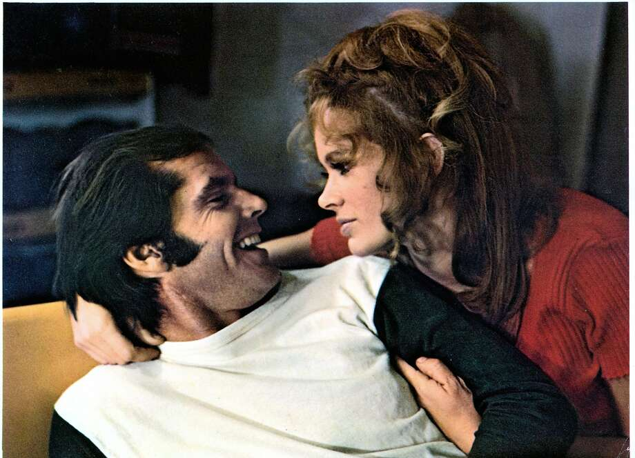 """Jack Nicholson lies with Karen Black in """"Five Easy Pieces."""" Photo: Archive Photos, Getty Images"""