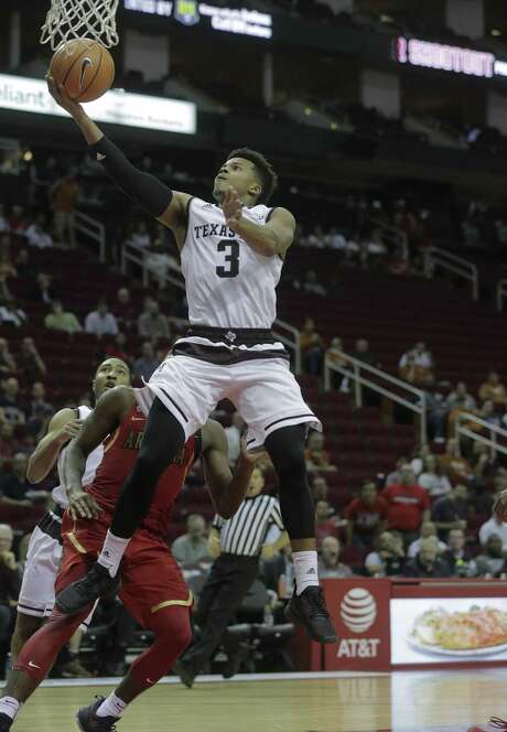 Admon Gilder, a shooting guard by nature, has been called upon to play the point at times for the perimeter-thin Aggies. Photo: Elizabeth Conley / Houston Chronicle / © 2016 Houston Chronicle