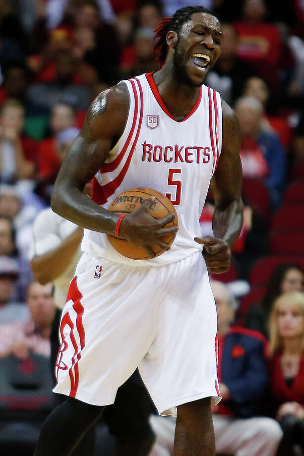 Having not studied the finer details of the Rockets record book, Montrezl Harrell did not know how close he came to taking down one of Yao Ming's records. Photo: Michael Ciaglo, Houston Chronicle / © 2016  Houston Chronicle