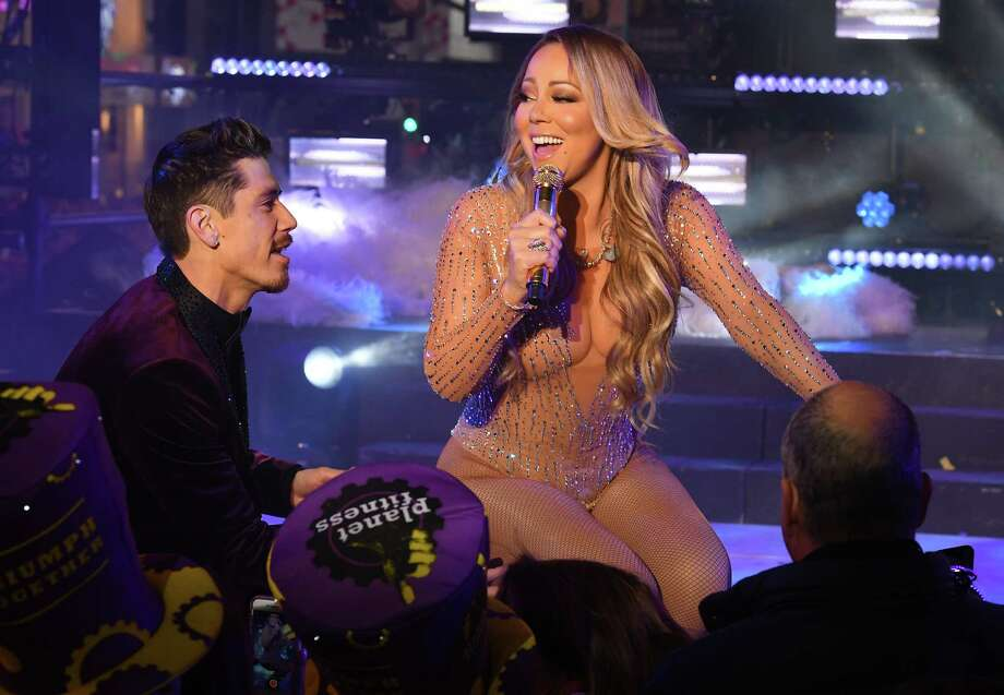 Mariah Carey performs during New Year's Eve celebrations in Times Square on December 31, 2016 in New York. Photo: ANGELA WEISS / AFP or licensors