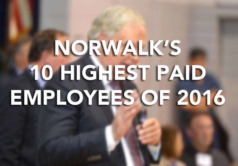Keep going for a look at Norwalk's highest paid employees of 2016, according to the city's comptroller.