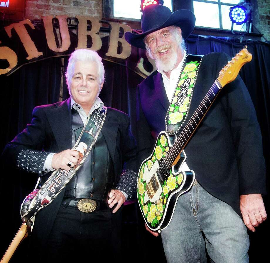 The new duo Dale & Ray includes honky-tonkin' Dale Watson (left) and western swing band leader Ray Benson Photo: RJ / Courtesy Lisa Pollard