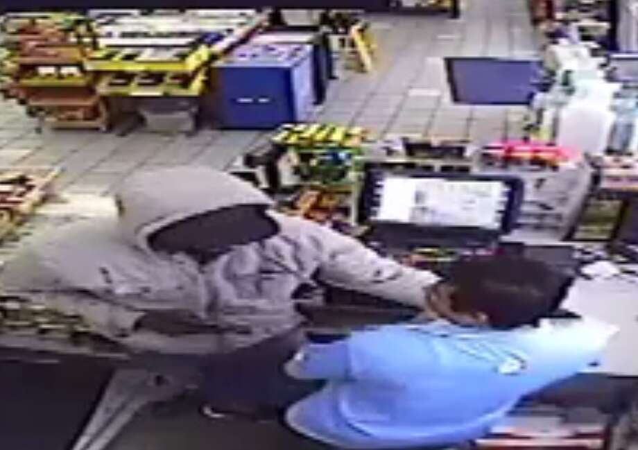 Webster police are searching for a suspect who robbed a gas station in the 1040 block of Bay Area Boulevard on Dec. 5, 2016. Photo: Webster Police Department