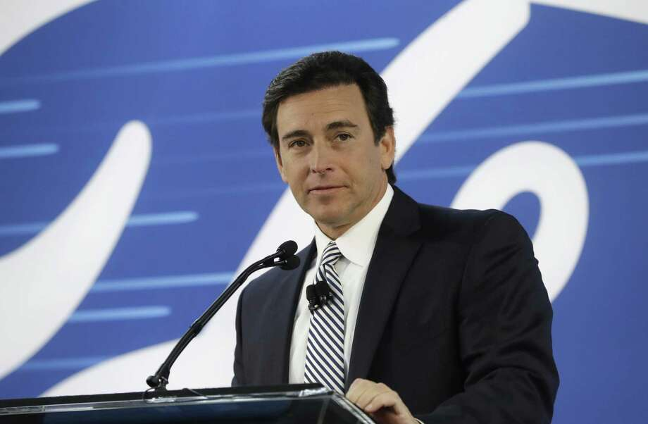 Ford Motor Co. CEO Mark Fields received $18.8 million in salary, bonus and stock, Ford said Friday in a regulatory filing. Including the value of his pension and other compensation, the total was $22.1 million, compared with $18.6 million in 2015. Photo: Carlos Osorio /Associated Press / Copyright 2017 The Associated Press. All rights reserved.