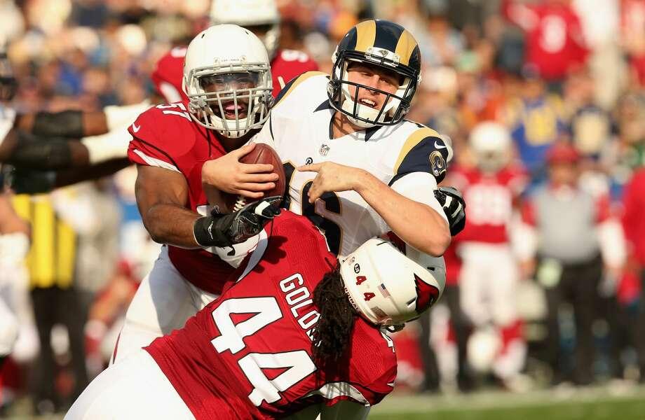 32(Last week: 32): Los Angeles Rams (4-12) Photo: Stephen Dunn/Getty Images