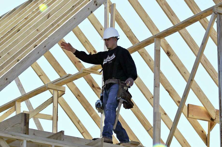 The Texas construction sector lost jobs in December, according to the Texas Workforce Commission. Photo: Associated Press /File Photo / Copyright 2017 The Associated Press. All rights reserved.