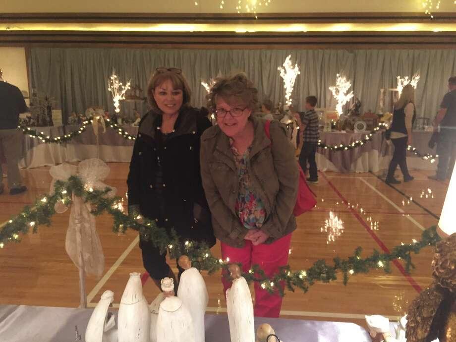 Nativity Festival: Janice Schooler, left, and Gwen Taylor Photo: Courtesy Photo