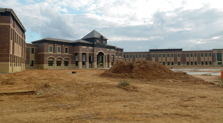 Construction is continuing on Klein Cain High School at 10317 Spring Cypress Rd. The campus is set to open in August. Photo: Jerry Baker, Freelance / Freelance