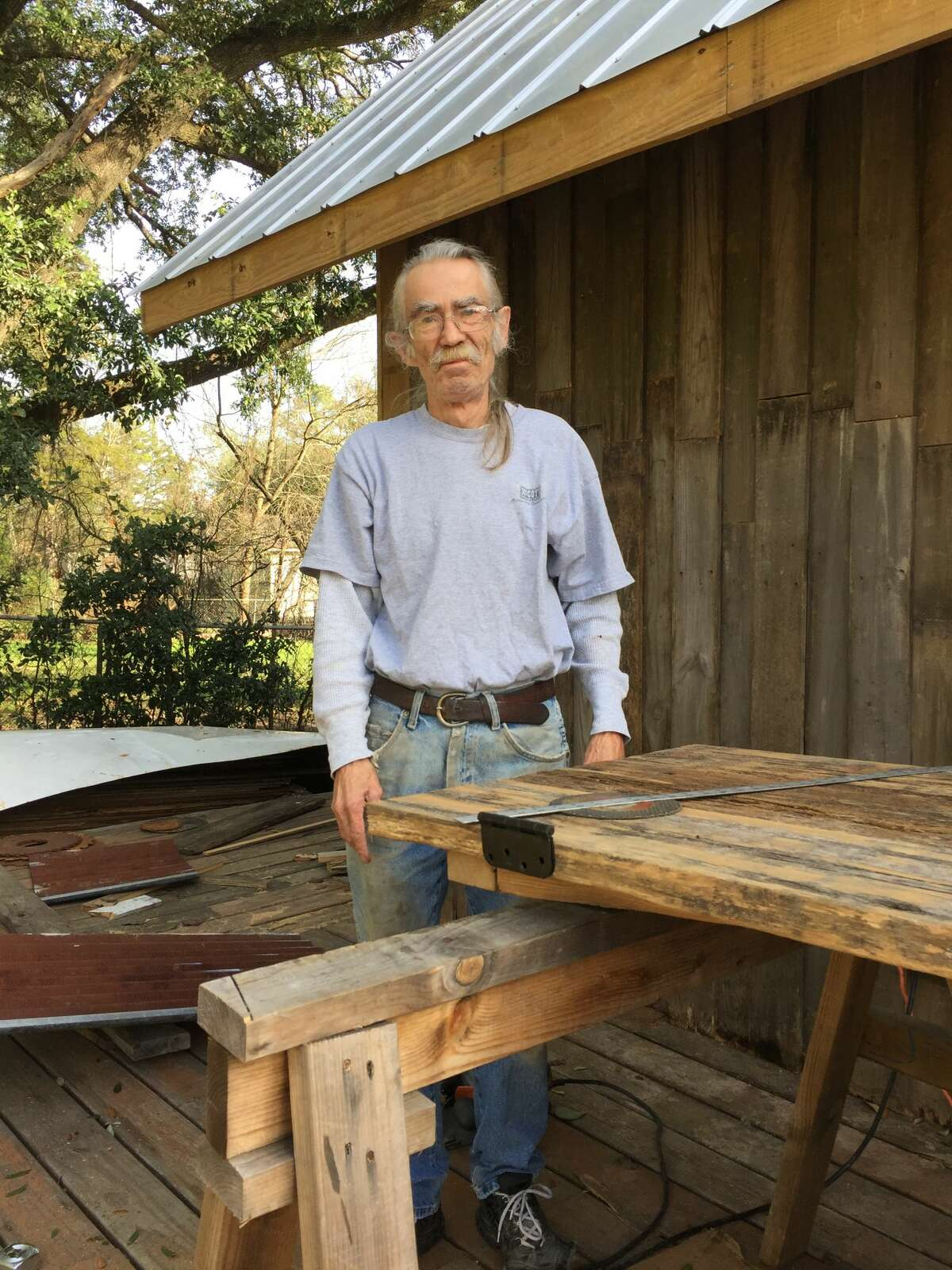 Dan Phillips with the Phoenix Commotion is working on a cowboy boot home in the college town, which will be available for rent in just a few months.