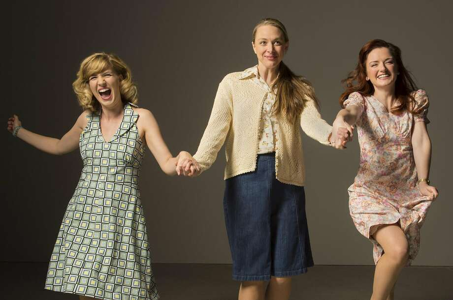 Meg (Sarah Moser), Lenny (Therese Plaehn), Babe (Lizzie O'Hara). Photo: Kevin Berne, TheatreWorks