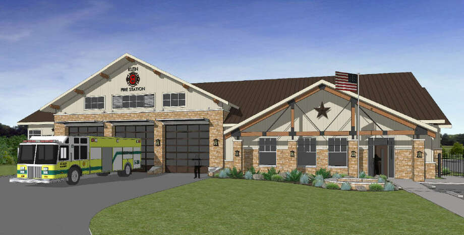 The Klein Volunteer Fire Department broke ground Dec. 10 for its new Station 8 at 9600 Crescent Clover Drive. Photo: Harris County ESD No. 16