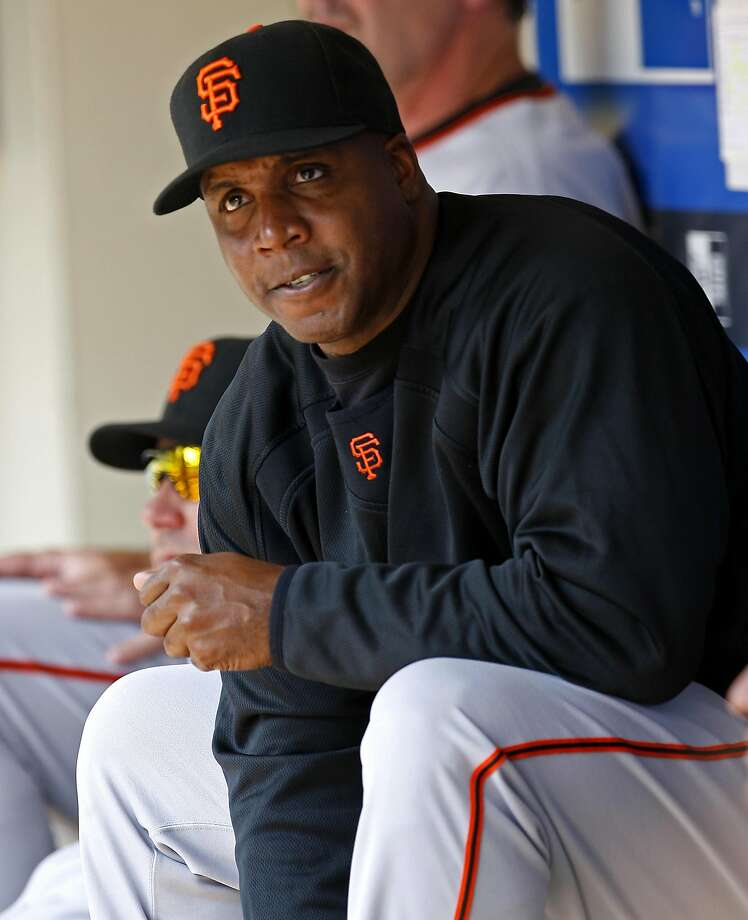 San Francisco Giants' Barry Bonds sits in the dugout during his team's game against the Milwaukee Brewers at Miller Park in Milwaukee, Wisconsin on Sunday July 22, 2007. Tribune photo by Nuccio DiNuzzo ..OUTSIDE TRIBUNE CO.- NO MAGS,  NO SALES, NO INTERNET, NO TV, CHICAGO OUT.. 00281761C Bonds0722 Photo: Nuccio DiNuzzo, Chicago Tribune