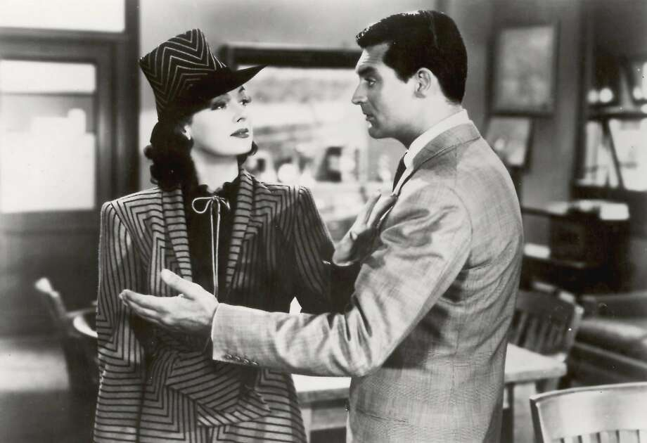 "Rosalind Russell (left) and Cary Grant in a scene from ""His Girl Friday."" Photo: FILE PHOTO"