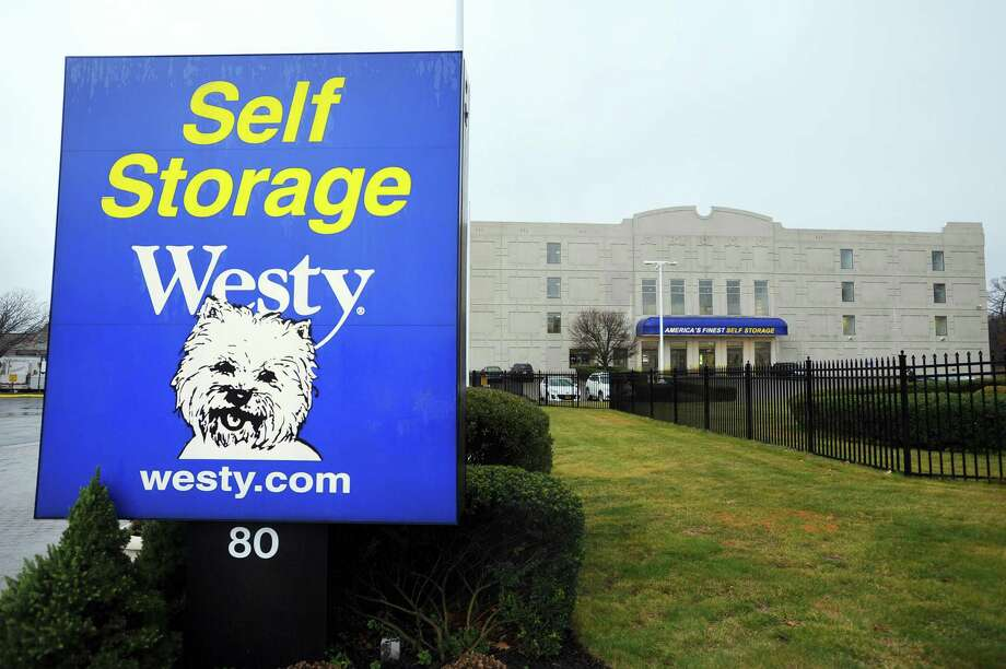 The Westy Self Storage Center on Brown House Road in Stamford, Conn. will soon be expanded. Photographed on Thursday, Dec. 29, 2016. Photo: Michael Cummo / Hearst Connecticut Media / Stamford Advocate