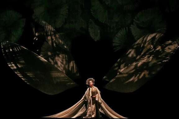 """Stanton Welch's """"Madame Butterfly"""" features sets and costumes by the late Peter Farmer, who died Jan. 1."""