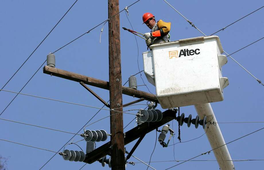 20. Electrical-power-line installers and repairersMedian wage (2012): $63,250Education required: High-school diploma or equivalentProjected job openings (through 2022): 49,900 Photo: Justin Sullivan/Getty Images