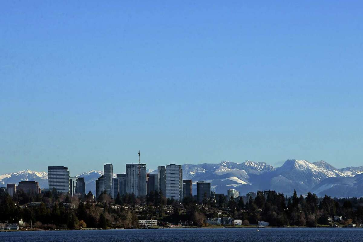 28. Bellevue, Washington Residents per coffee shop: 3,611